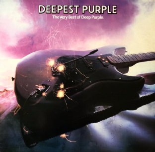 Deep Purple - Deepest Purple: The Very Best Of Deep Purple (LP) (VG-EX/VG-)